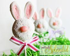 Donut Bunny Pops: via Positively Splendid