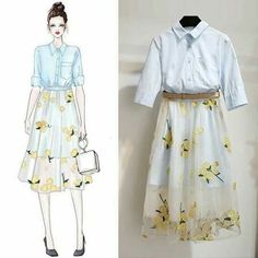 Korean Fashion – How to Dress up Korean Style – Designer Fashion Tips Look Fashion, Trendy Fashion, Korean Fashion, Fashion Art, Girl Fashion, Fashion Ideas, Cute Dresses, Casual Dresses, Casual Outfits