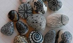 DIY Sharpie Zen Stones