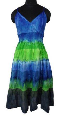 Ibaexports Blue Cotton Women Beachwear Dress « Clothing Adds Anytime