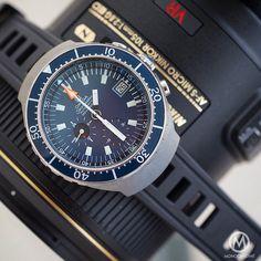 The Legendary Vintage Omega Seamaster 120m chronograph aka BigBlue.