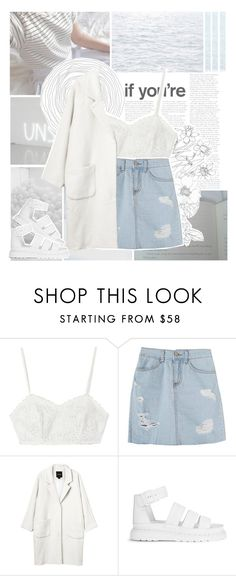 """""""I don't get it"""" by xniko ❤ liked on Polyvore featuring Candela, Monki and Dr. Martens"""