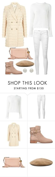 """""""swan song"""" by rubysparks90 ❤ liked on Polyvore featuring Proenza Schouler, Frame, River Island, Tory Burch, Janessa Leone and Melissa Odabash"""