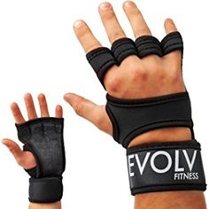 Cross Training Gloves with Wrist Support for Cross Fit, Weightlifting, WOD, Gym Workouts, Powerlifting & Fitness Exercises | Non-Slip Palm Padding for Strong Grip - Avoid Calluses | For Men & Women