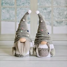 Personalized handmade cloth interior dolls by DollCa Handmade Christmas Crafts, Holiday Crafts, Christmas Decorations, Christmas Ornaments, Christmas Gnome, Simple Christmas, Gnomes, Diy Gifts, Simple Crafts