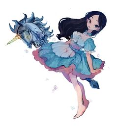 Alice In Wonderland Artwork, Dark Alice In Wonderland, Adventures In Wonderland, Alice Liddell, Lewis Carroll, Character Illustration, Illustration Art, Animes Yandere, Chibi