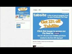 Create Pinterest Deal with TabSite's Pin Deal Application for Facebook Pages: http://www.tabsite.com/