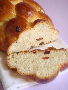 Easter braid at Magdi n�ni (Fonott kal�cs, Hungary) (2x 20 slices,1slc=1srv=35g) Recipe