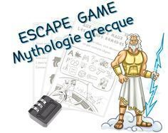Escape game Mythologie grecque Games For Kids, Activities For Kids, Escape Room Challenge, Summer Reading Program, Theme Days, Cycle 3, Diy Games, Dramatic Play, Greek Mythology