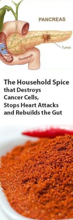 WHAT IF THERE WAS A COMMON HOUSEHOLD SPICE THAT COULD REBUILD THE GUT WALL TO IMPROVE DIGESTION, DESTROY CANCER CELLS, STOP A HEART ATTACK IN ITS TRACKS AND WAS USEFUL FOR WEIGHT LOSS? I'M ASSUMING…