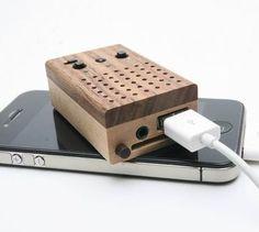 Tiny wooden speakers