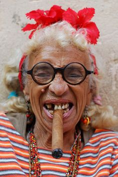 Havana Grandma | Flickr - Photo Sharing! http://www.cuba-junky.com