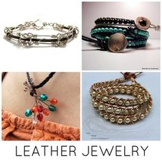 How to Make Trendy Leather Jewelry: 10 Tutorials to Try