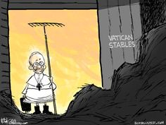 New Pope Francis Editorial Cartoon - Chip Bok's Bokbluster