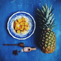 Sweet and Savory Pineapple Snack