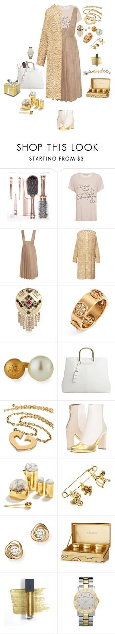 """Gold crochet"" by mbarbosa ❤ liked on Polyvore featuring Wildfox, Maison Père, Ralph Lauren, Nouvel Heritage, Tory Burch, MANGO, Cartier, M Missoni, ANNA by RabLabs and Bloomingdale's"