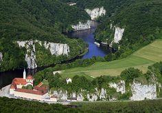 Donaudurchbruch & Weltenburger Enge bei Kelheim, Bavaria, Germany