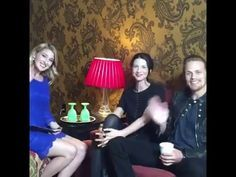 'Outlander' Stars Sam Heughan And Caitriona Balfe Play InStyle Agony Aunts - YouTube