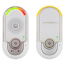 Motorola MBP8 Digital Audio Baby Monitor http://www.parentideal.co.uk/john-lewis---baby-monitors.html