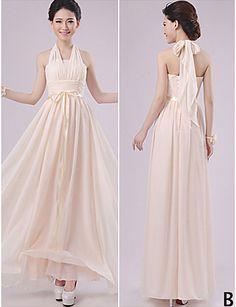 Mix & Match Dresses Floor-length Chiffon 5 Styles Bridesmaid Dresses (2840143) 2016 – £34.99