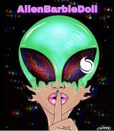 via GIPHY Alien Drawings, Trippy Drawings, Art Drawings, Alien Painting, Trippy Painting, Trippy Alien, Alien Art, Art Pop, Psychedelic Art