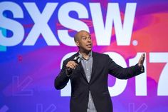 Senator Cory Booker, a Democrat from New Jersey, speaks during the 2017 South By Southwest (SXSW) Interactive Festival in Austin, Texas, U.S., on Friday, March 10, 2017.