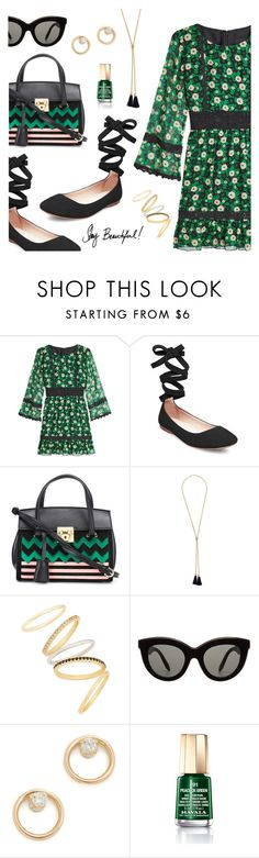Outfit of the Day by dressedbyrose on Polyvore featuring Anna Sui, Steve Madden, Salvatore Ferragamo, Chloé, Zoë Chicco, Madewell, Victoria Beckham, Mavala, SOLD Design Lab and ootd