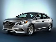 2015 Detroit Auto Show: Hyundai Unveils Sonata Plug-In Hybrid  #Hyundai #Sonata #AutoNews