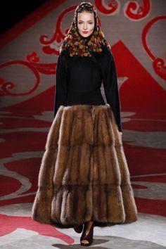 Ulyana Sergeenko,  Осень-зима 2012/13, Couture, Париж