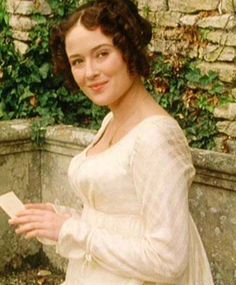 Jennifer Ehle, Elizabeth Bennet - Pride and Prejudice directed by Simon Langton (TV Mini-Series, BBC Regency Dress, Regency Era, Darcy Pride And Prejudice, Jennifer Ehle, Little Dorrit, Jane Austen Movies, Becoming Jane, Movie Costumes, Film Stills