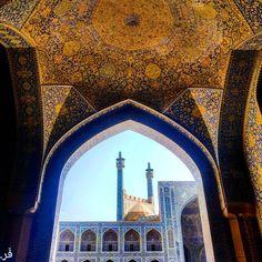 Esfahan , Iran Persian Architecture, Sacred Art, Iran, Barcelona Cathedral, Paper Art, Lust, Taj Mahal, Tourism, World