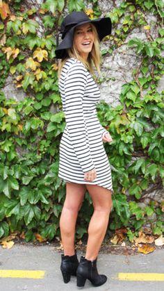 The Golden Girl - Soda Stripe Dress Online Fashion Boutique, Fashion Online, Stripe Dress, Golden Girls, Soda, Latest Trends, Cold Shoulder Dress, Shopping, Collection