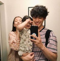New Fashion Korean Couple Love 30 Ideas Cute Asian Babies, Korean Babies, Asian Kids, Cute Family, Family Goals, Couple Goals, Couple Ulzzang, Ulzzang Kids, Cute Couples Goals