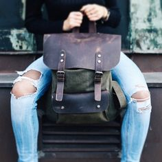 Nordlicht Vintage Backpack  #vintage #style #unique #nordlichtbags
