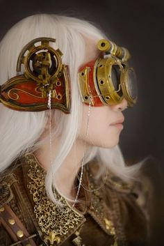 ...steampunk goggles...