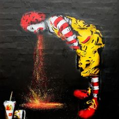 :) It would be hysterical on the side of McDonalds