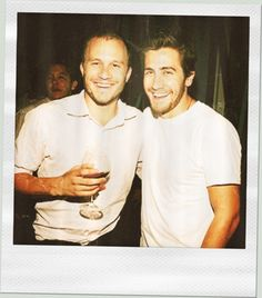 Heath Ledger and Jake Gyllenhal.