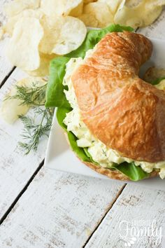 There's nothing like a good Egg Salad Sandwich, and this one is by far my favorite recipe. It is smooth and creamy and flavorful, and just the best.