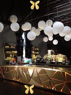 LURE, HOLLYWOOD LURE, HOLLYWOOD on Behance<br> Lounge Design, Bar Lounge, Design Hotel, Lounge Ideas, Bar Interior Design, Restaurant Interior Design, Cafe Design, Interior Ideas, Luxury Interior