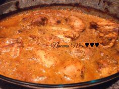 Saucy baked chicken