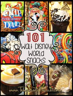 101 Snacks at Walt Disney World