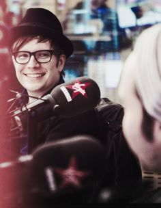 Patrick Stump. Seriously my favorite musician ever