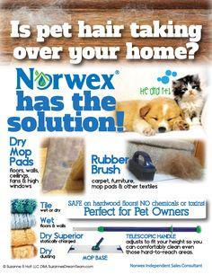 Norwex Pet Hair Solu