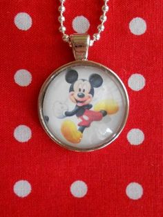 Mickey Mouse Pendant