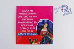 Imantados Santos - Nossa Senhora Desatadora de nós - Papel e Tudo