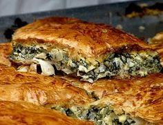 spanakopita - greek traditional spinach pie