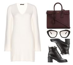"""""""#422"""" by missad3 ❤ liked on Polyvore featuring Calvin Klein Collection, Gianvito Rossi, Yves Saint Laurent and Miu Miu"""