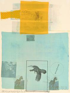 "Artwork by Robert Rauschenberg, ""Why You Can't Tell from ""Suite of Nine Prints"", Made of Offset lithograph Robert Rauschenberg, Collages, Collage Art, Photomontage, Neo Dada, Modern Art, Contemporary Art, Grafik Art, Pop Art Movement"