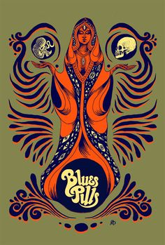 Blues Pills - Maarten Donders - artwork & illustration