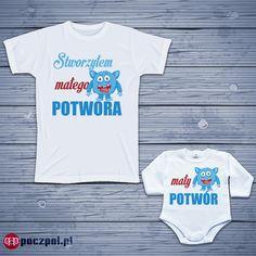 Zestaw - Stworzyłem małego potwora  #bodziak #bodziaki #bodyniemowlęce #bodydzieciece #body #instamatki #instadziecko #instamama #Macierzyństwo #mama #dziecko #ubrankaDlaDzieci #ubrankaDlaNiemowląt #fashionkids #instababies #niemowlę #polskamama #newborn #jestembojesteś #syn #córka #babyclothes #babyshop #babygirl #babyboy #ubranka #niemowlę #poczpol #ciąża #bedemama Fashion Kids, Body, Onesies, Oxford, Clothes, Outfits, Clothing, Kleding, Babies Clothes